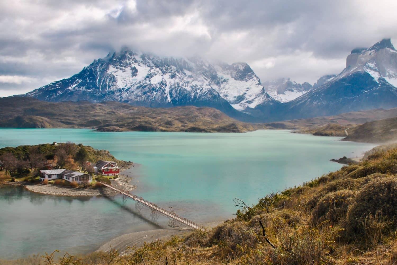 lago pehoé torres del paine patagonie chili