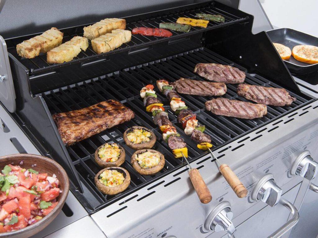 barbecue typique chili