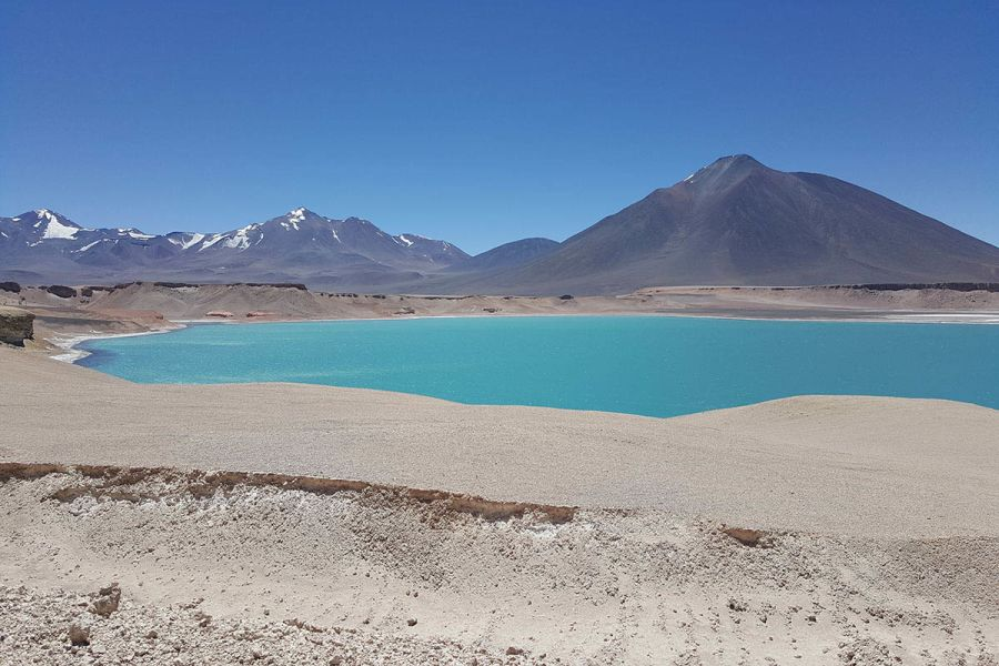 laguna verde nevado 3 cruces chile