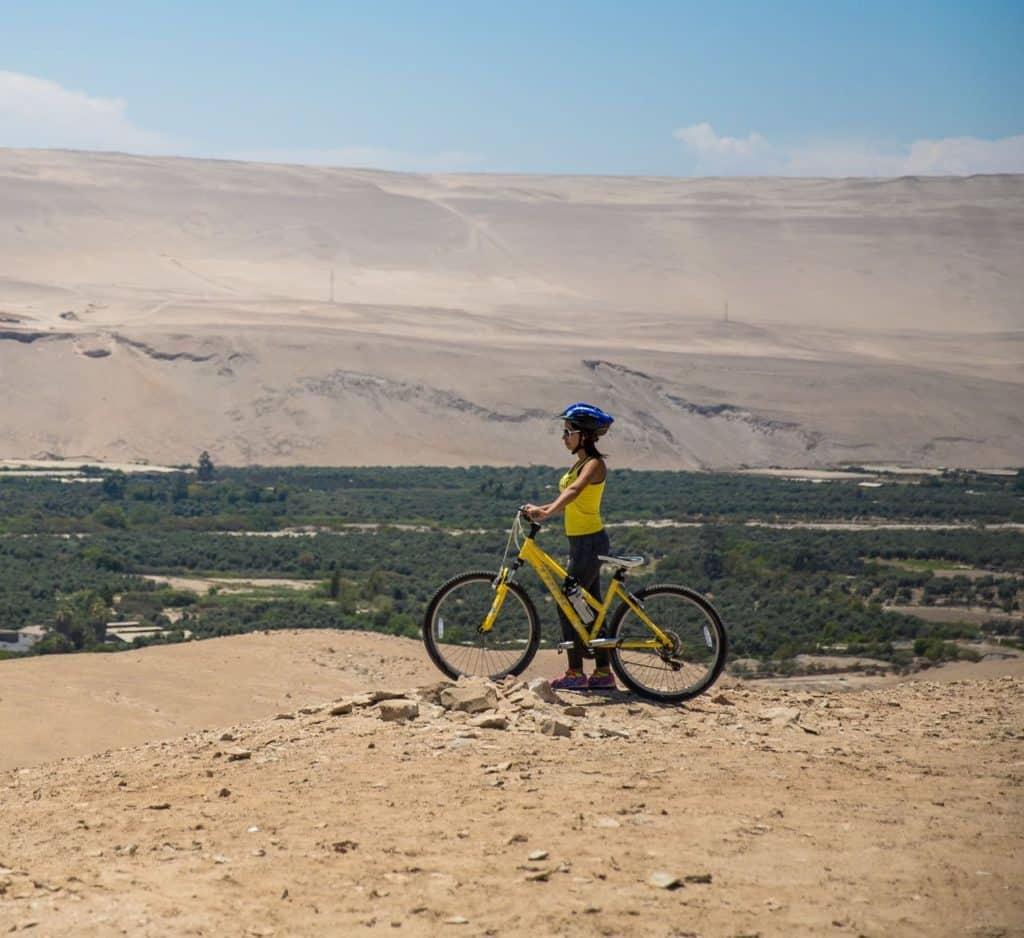 Du vélo de montagne à Arica