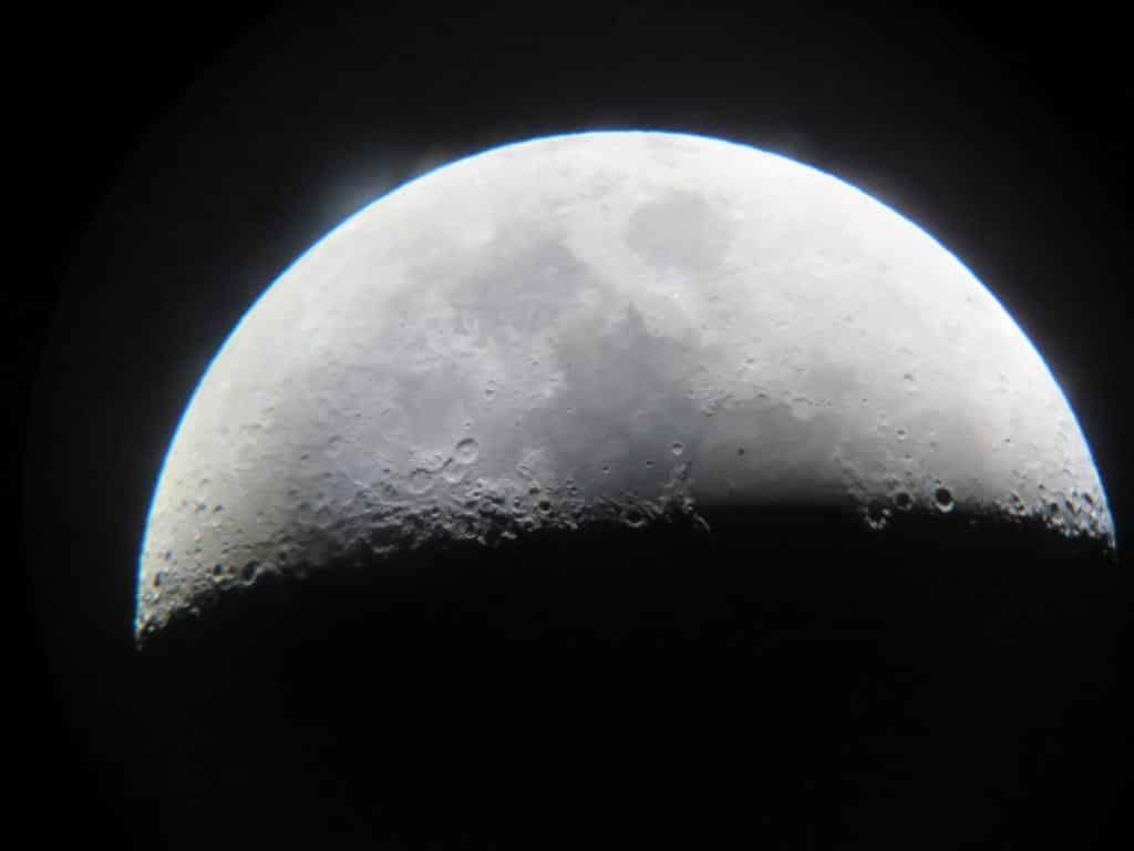 Observation de la lune à El Pangue