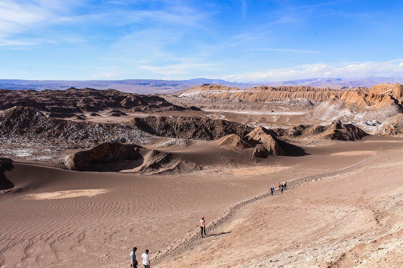 Vallée de la lune Atacama