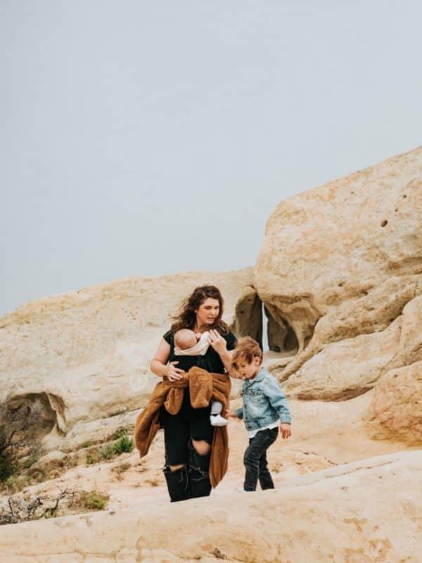 porte bébé voyage chili enfant famille