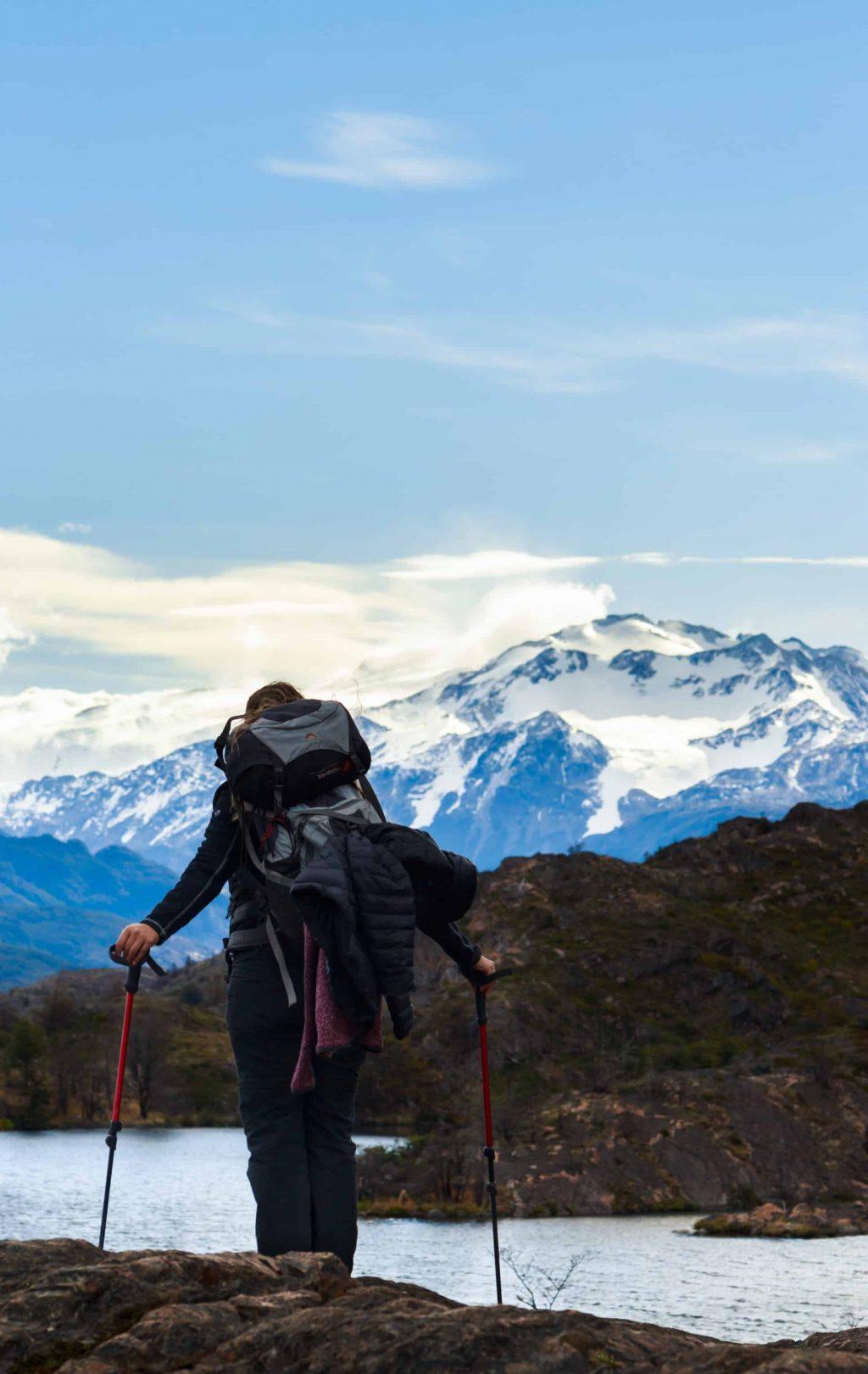 Randonnée Torres Del Paine Patagonie Chili montagnes